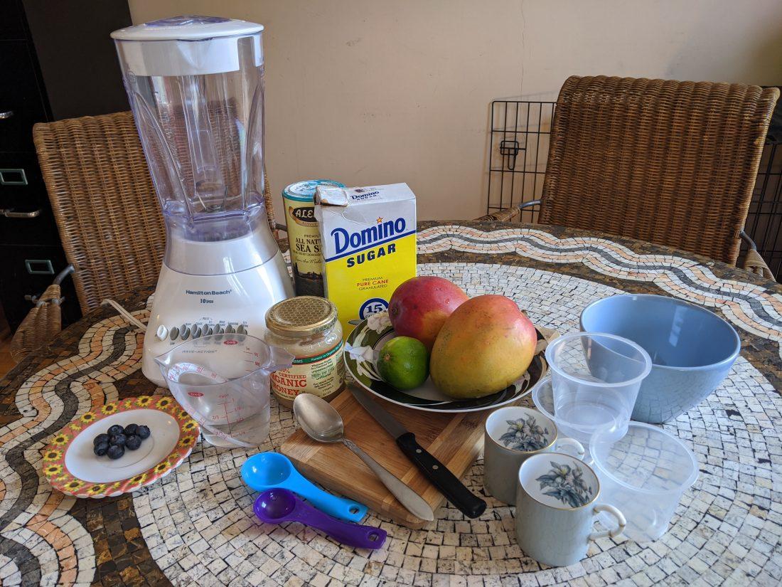 Mango Ice Ingredients